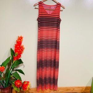 Apt.9 Maxi Stripe  Maxi Dress